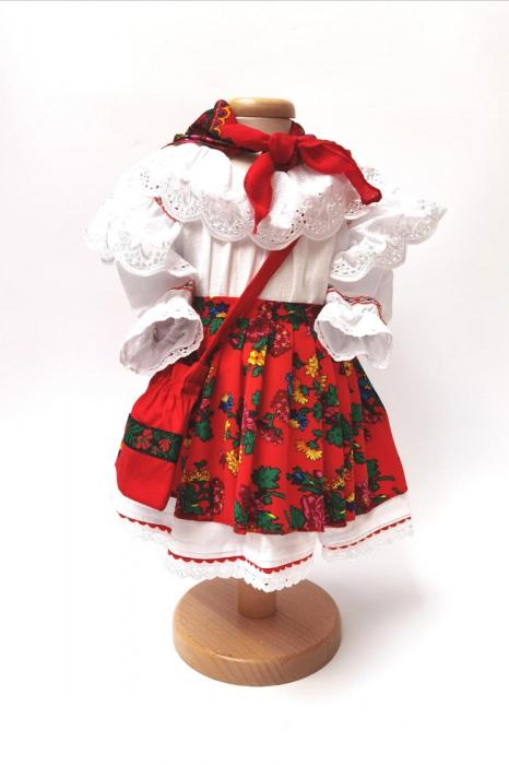 Costum Traditional Fetite 0-12 luni Model V [0]