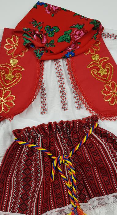 Costum Traditional Fetite 3-12 luni Aurica 3