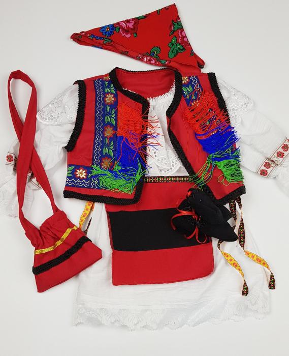 Costum Traditional Botez Fetite Catalina 0