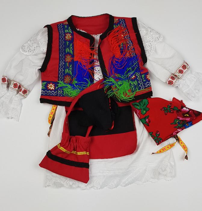 Costum Traditional Botez Fetite Catalina 2