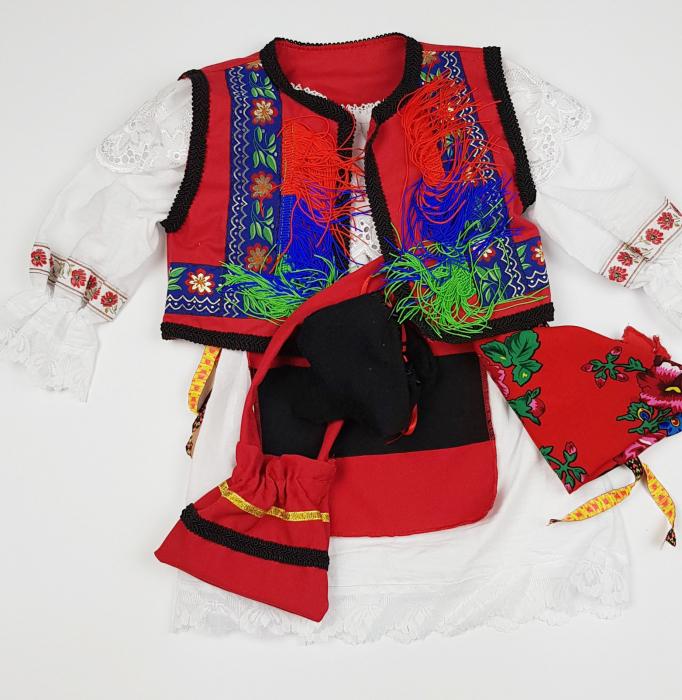 Costum Traditional Botez Fetite Catalina 1