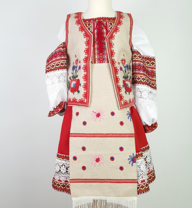 Costum traditional fetite Mira [2]
