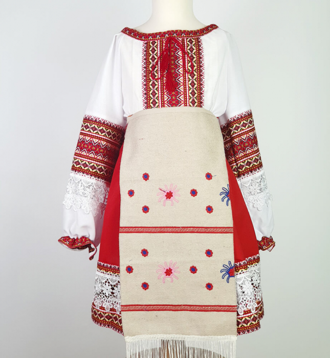 Costum traditional fetite Mira [3]
