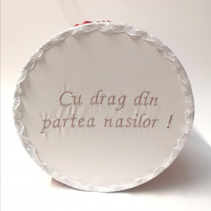 """Cutie pentru botez cu broderie """"Cu drag din partea nasilor"""" 6 [1]"""