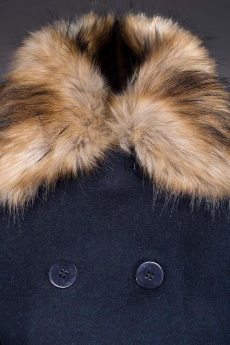 Palton Genevive Bleumarin [2]