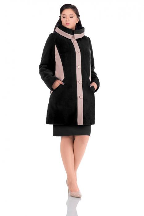 Palton Marina Negru 0