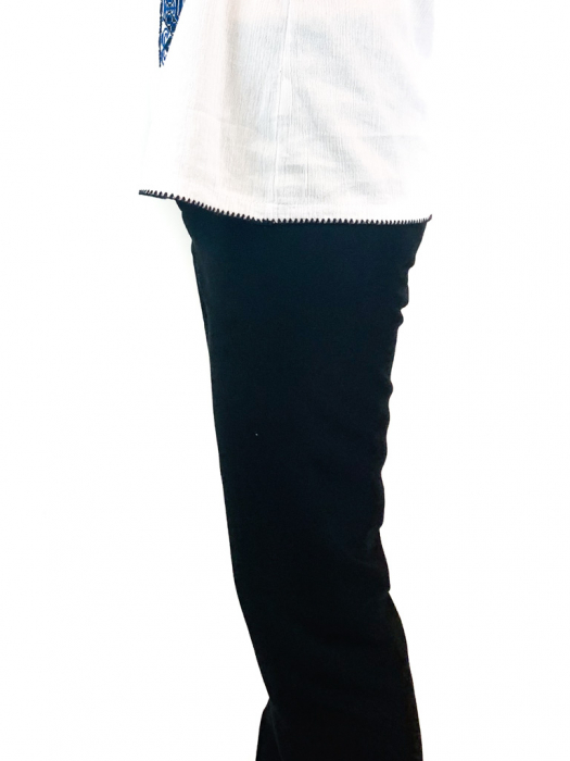 Pantaloni culoare negru pentru barbati [0]