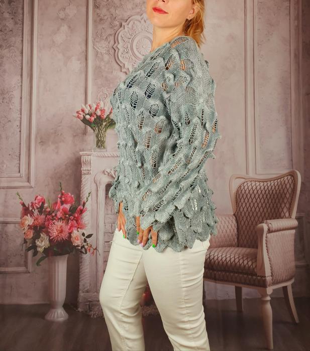 Pulover dama tricotat 3D - Sorana 2 [2]