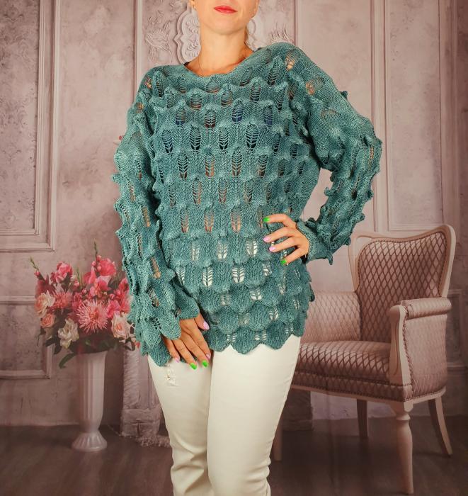 Pulover dama tricotat 3D - Sorana 3 [0]