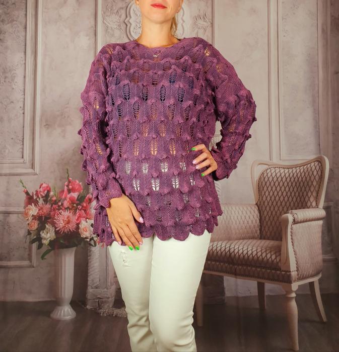 Pulover dama tricotat 3D - Sorana 6 [0]