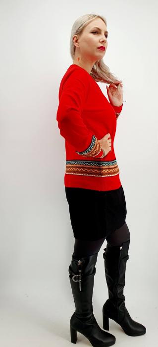 Pulover stilizat traditional - Diferite culori [2]