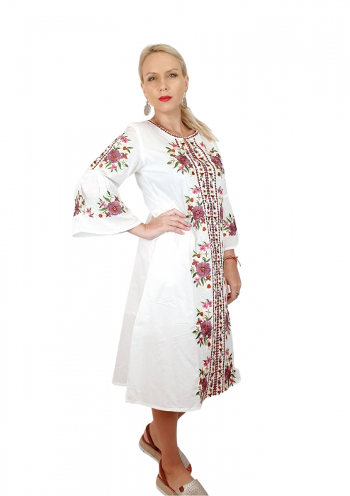 Rochie traditionala lunga Lacramioara 5 [4]