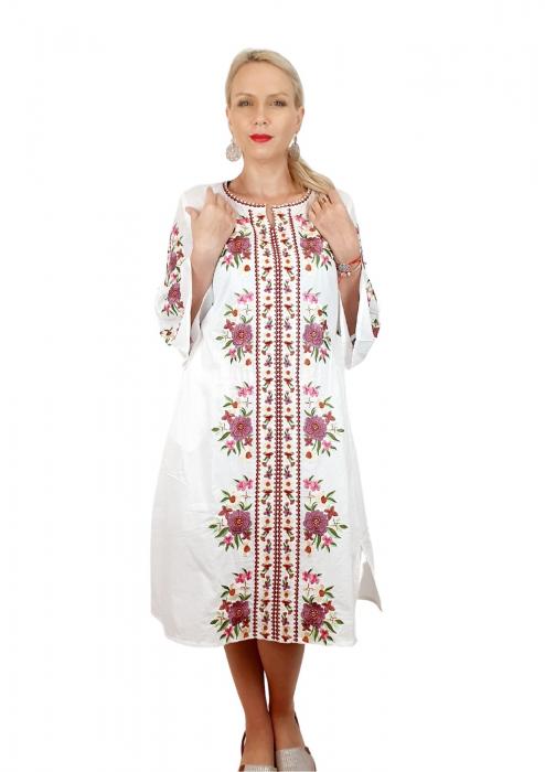 Rochie traditionala lunga Lacramioara 5 [1]