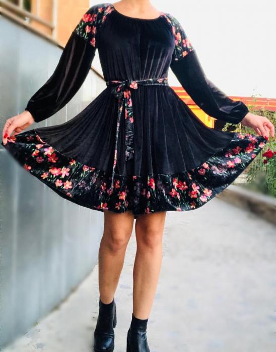 Rochie eleganta din catifea [0]