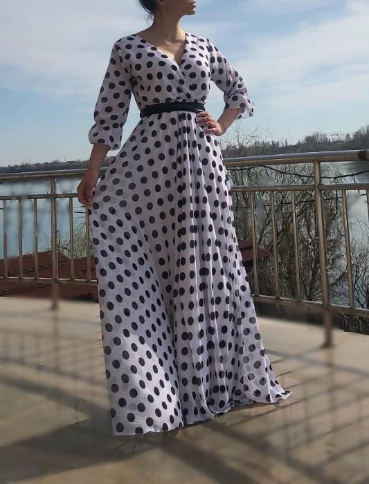 Rochie eleganta lunga - Nela [2]