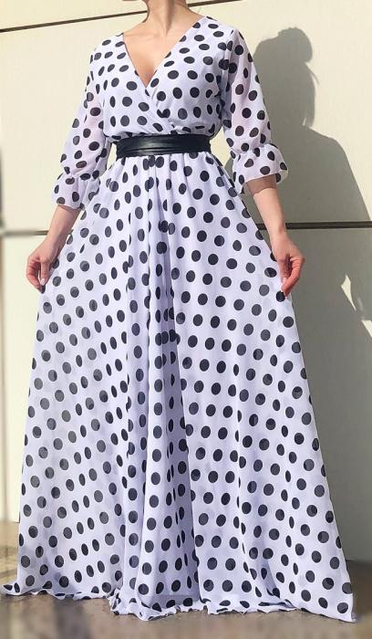 Rochie eleganta lunga - Nela [0]