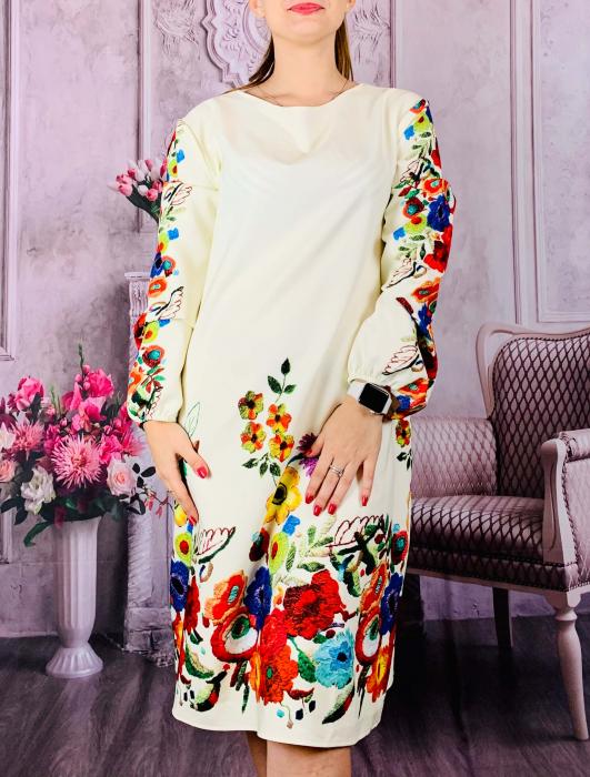 Rochie florala Toni 4 [0]