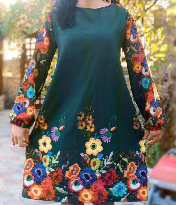 Rochie florala Toni 6 [0]