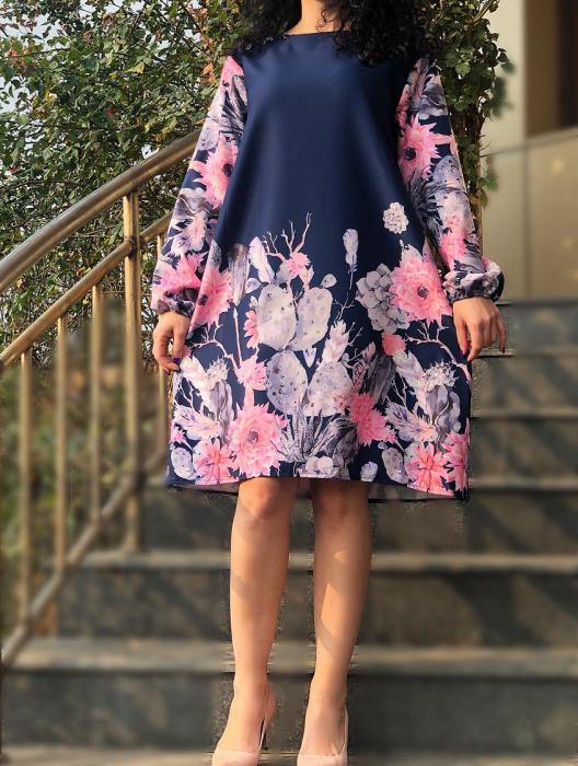 Rochie florala Toni 8 [0]