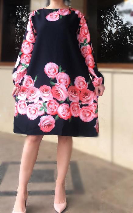 Rochie florala Toni 9 [2]
