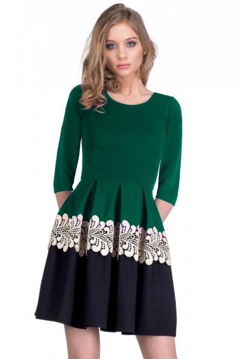 Rochie Mari Verde 1