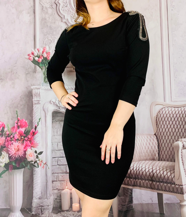 Rochie Neagra - Esmeralda [0]