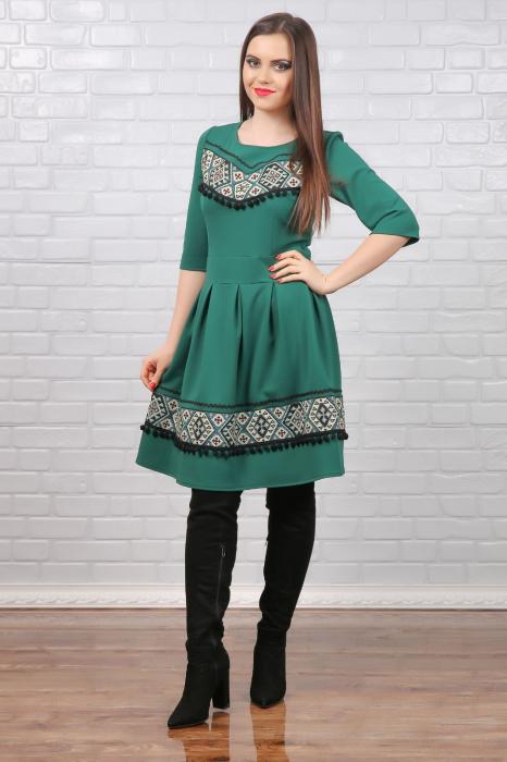 Rochie stilizata cu motive traditionale Aisha [0]
