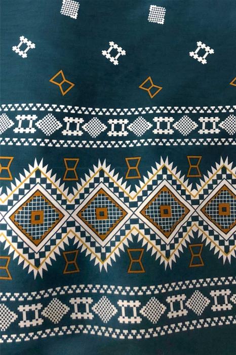 Rochie stilizata cu motive traditionale Madlen 3 [2]