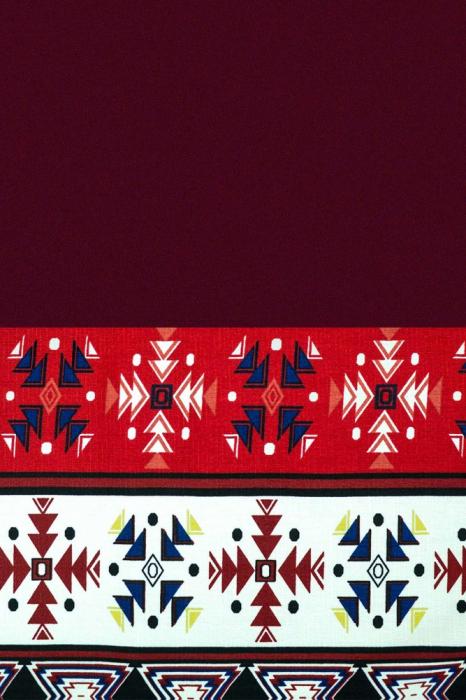 Rochie stilizata cu motive traditionale Rodica [2]