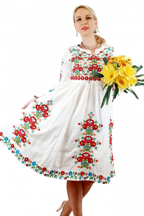 Rochie traditionala Anabela 12 2