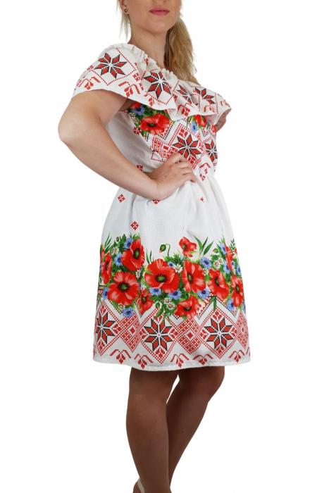 Rochie Traditionala cu maci 8 [2]