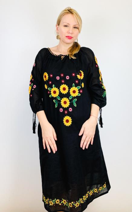 Rochie Traditionala Floarea Soarelui [5]