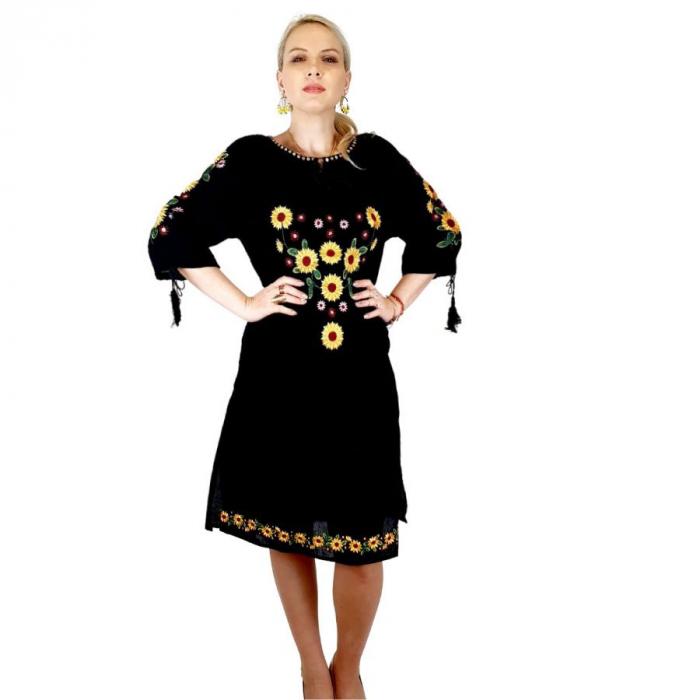 Rochie Traditionala Floarea Soarelui [3]
