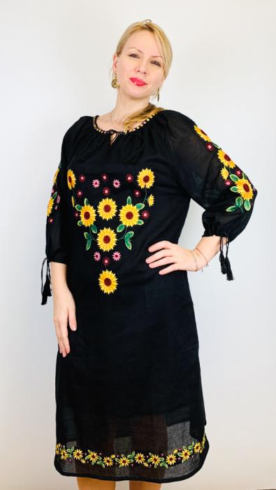 Rochie Traditionala Floarea Soarelui [6]
