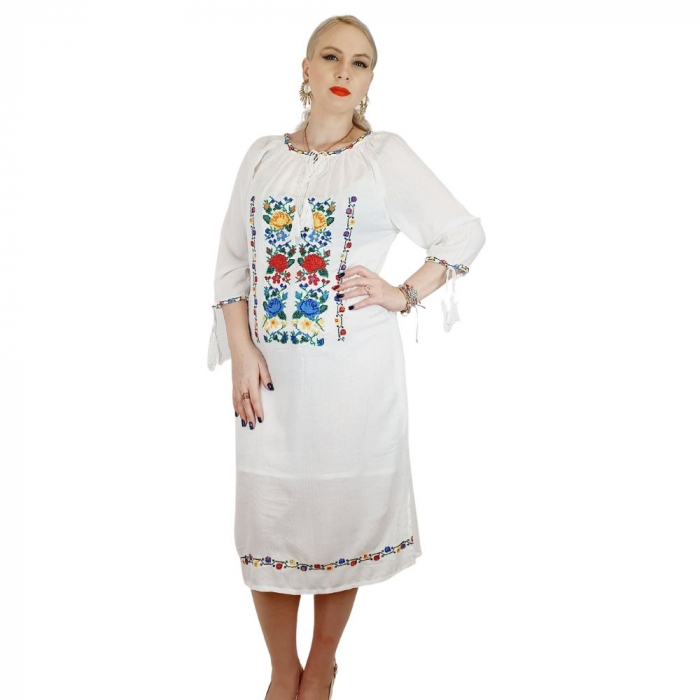 Rochie Traditionala Tricolor [1]