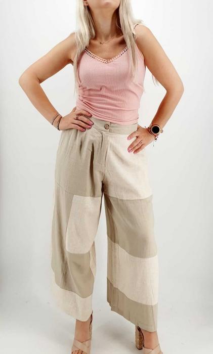Pantaloni Salvari de vara Crem [0]