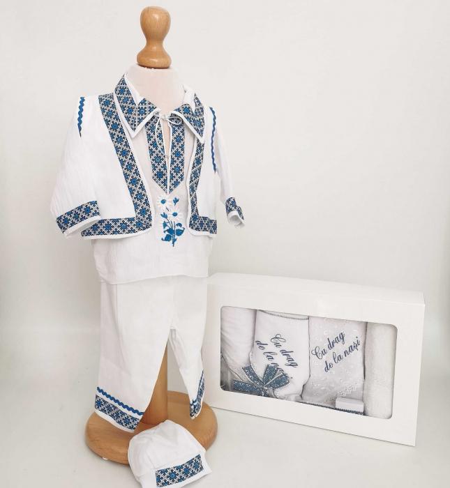 Set Botez Traditional Raul 21 – 2 piese / costumas traditional si trusou Botez Traditional [0]