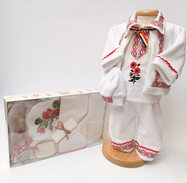 Set Botez Traditional Raul 6 – 2 piese / Botez Traditional : costumas si trusou [0]