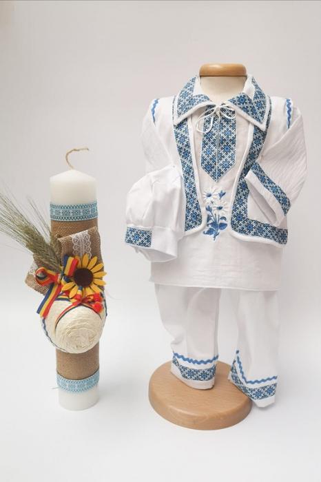 Set Botez Traditional Raul / Botez Traditional : costumas si lumanare [0]
