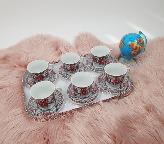 Set Cafea cu motive traditionale 2 [4]