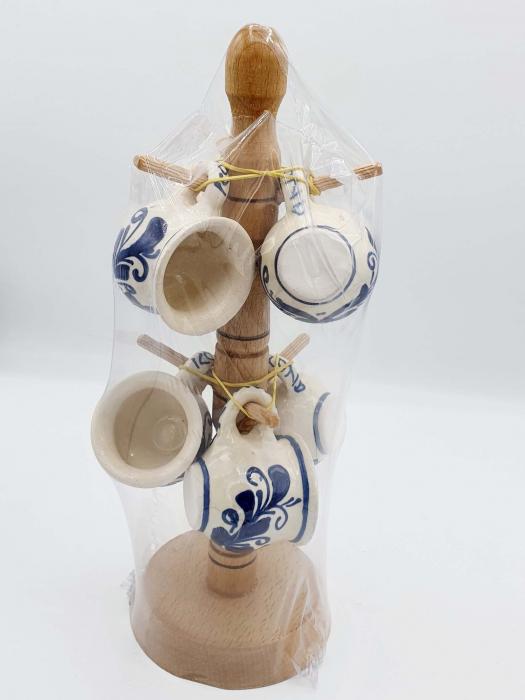 Set canute tuica/visinata ceramica de Corund 4 0