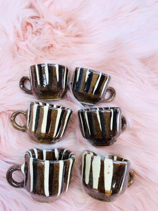 Set canute tuica/visinata ceramica de Corund 6 3