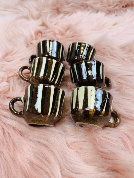 Set canute tuica/visinata ceramica de Corund 6 0