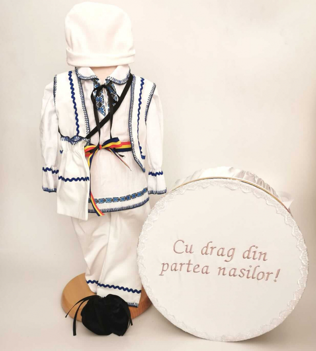 Set Costum National Victoras 14 si Cutie Botez Traditional [0]