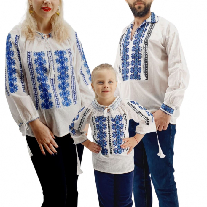 Set Familie Traditionala 137 / Camasi traditionale cu broderie 0