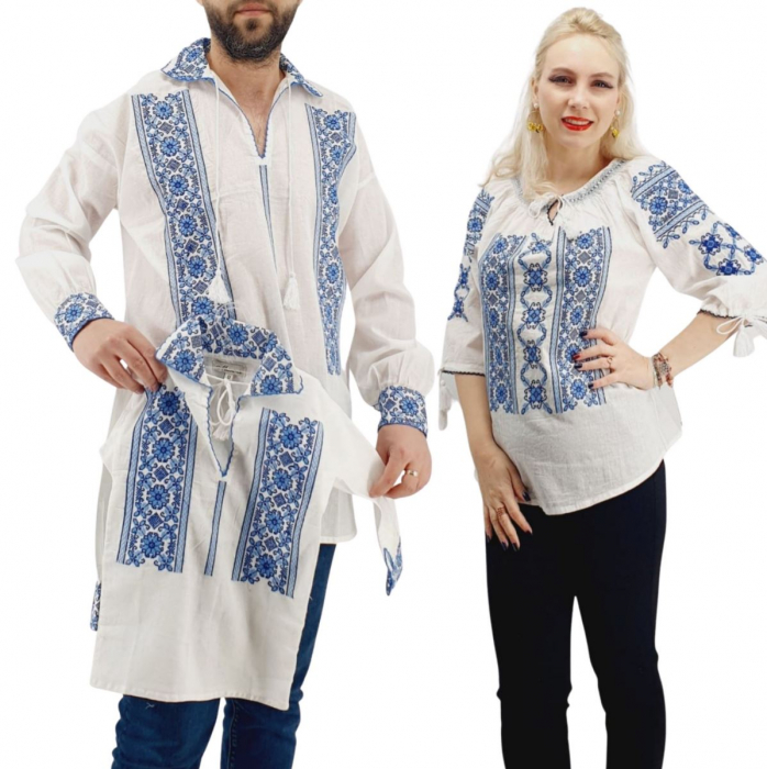 Set Familie Traditionala 146 / Camasi traditionale cu broderie [0]