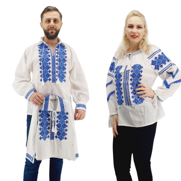 Set Familie Traditionala 156 / Camasi traditionale cu broderie [0]