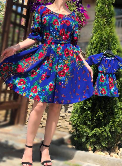 Set Rochii cu motive florale 3 - Mama si Fiica [0]