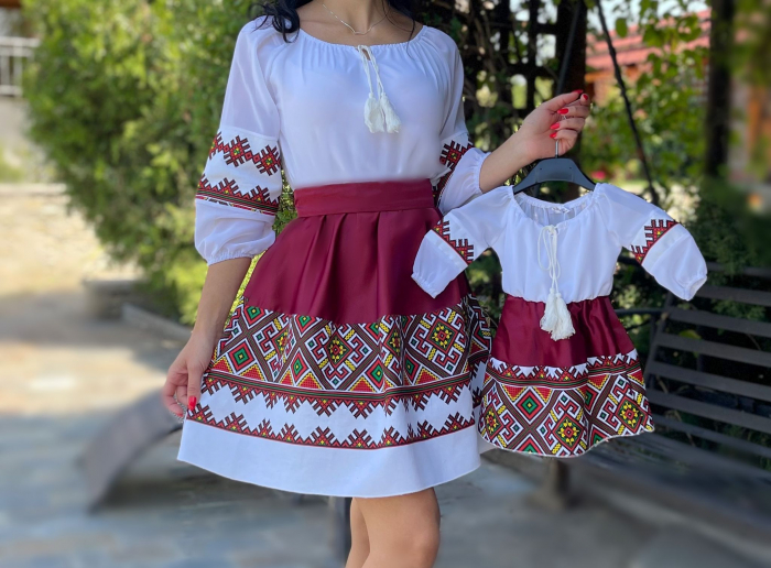 Set rochii Mama si Fiica Laura 10 [1]