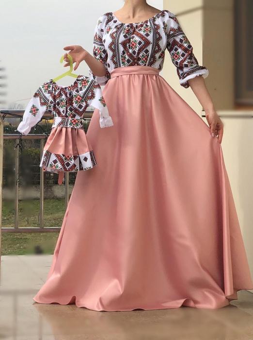 Set rochii stilizate traditional -Mama si Fiica [0]